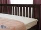 Двуспальная кровать Жасмин с ниским изножьем 4