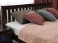Двоспальне ліжко Жасмін з низьким узніжжям 2