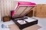 Кровать Milena с м'ягким изголовьем 1