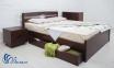 Двоспальне ліжко Ліка Люкс з шухлядами 0