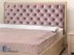 Ліжко Мілена з м'ягким узголів'ям 0