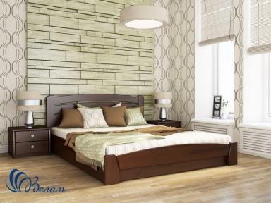 Двоспальне ліжко Селена Аурі