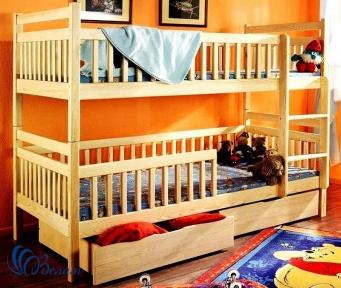 Двухъярусная кровать Том и Джери