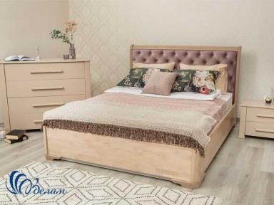 Ліжко Мілена з м'ягким узголів'ям