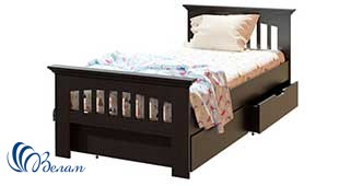 Односпальне ліжко Лаванда