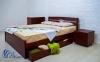 Двоспальне ліжко Ліка Люкс з шухлядами